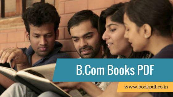 B com Books And Study Materials For First Year in PDF February 2019