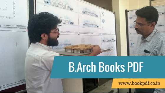 B Arch Books & Notes For All Semesters In PDF December 2018