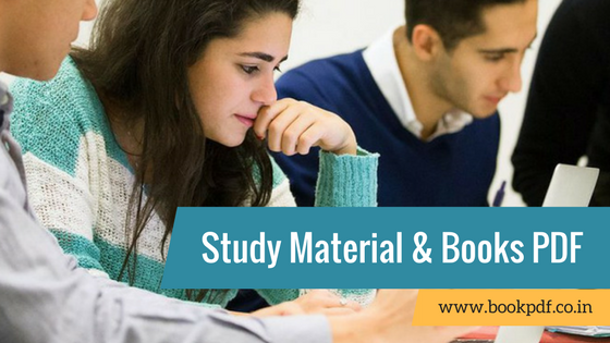 Book PDF - Exam Study Material, Books References and Tips 2018