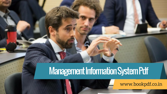 MBA Management Information Systems Lecture Notes in Pdf
