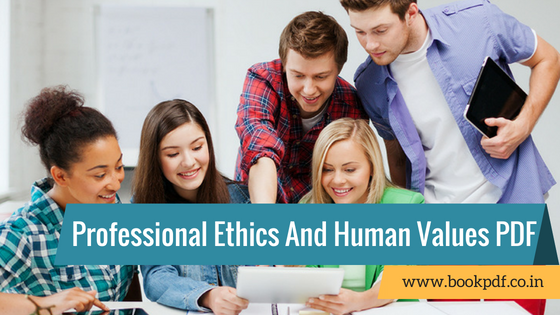 Book values professional and human ethics