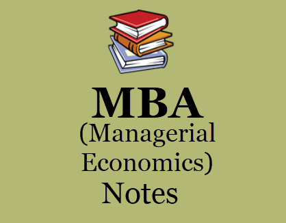 MBA 1ST Semester Managerial Economics Study Materials BOOKPDF 2020| Download MBA 1st Year Managerial Economics Study Materials BOOKPDF