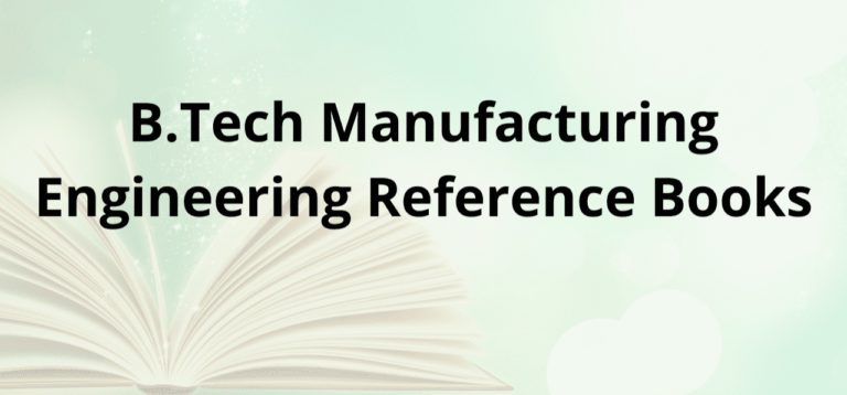 Manufacturing Engineering Reference Books PDF Format Available 2020 Recommended Authors BTech