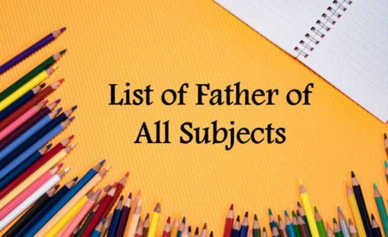 Father of Various Fields Notes 2021: Download Father of Various Fields Notes Study Materials